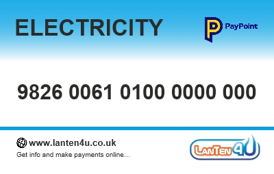 Electricity Pay As You Go Top Up