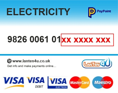 Credit/Debit Card PAYG TopUp Voucher - ElecPlus